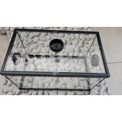 terrario 35  cm vidro